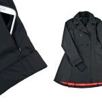 Hub and Bespoke; Christine Cox; Seattle Commercial Photographers; womens raincoats; imagesbychristinecox.com