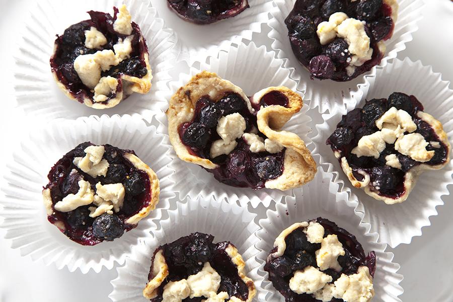 Christine Cox; Seattle Food Photographer; Blueberry Pie; Seattle WA; 2015; Zaarly