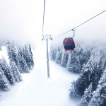 Christine Cox; Seattle Commercial Photographer; Crystal Mountain; Christmas Day 2014; Mt Rainier Gondola