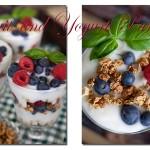 Seattle Food Photographer Christine Cox; Fruit and Yogurt Parfaits; picnic; Healthy Eats; Desserts; Blueberries; raspberries